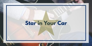star in your car- live music and comedy as you car share!
